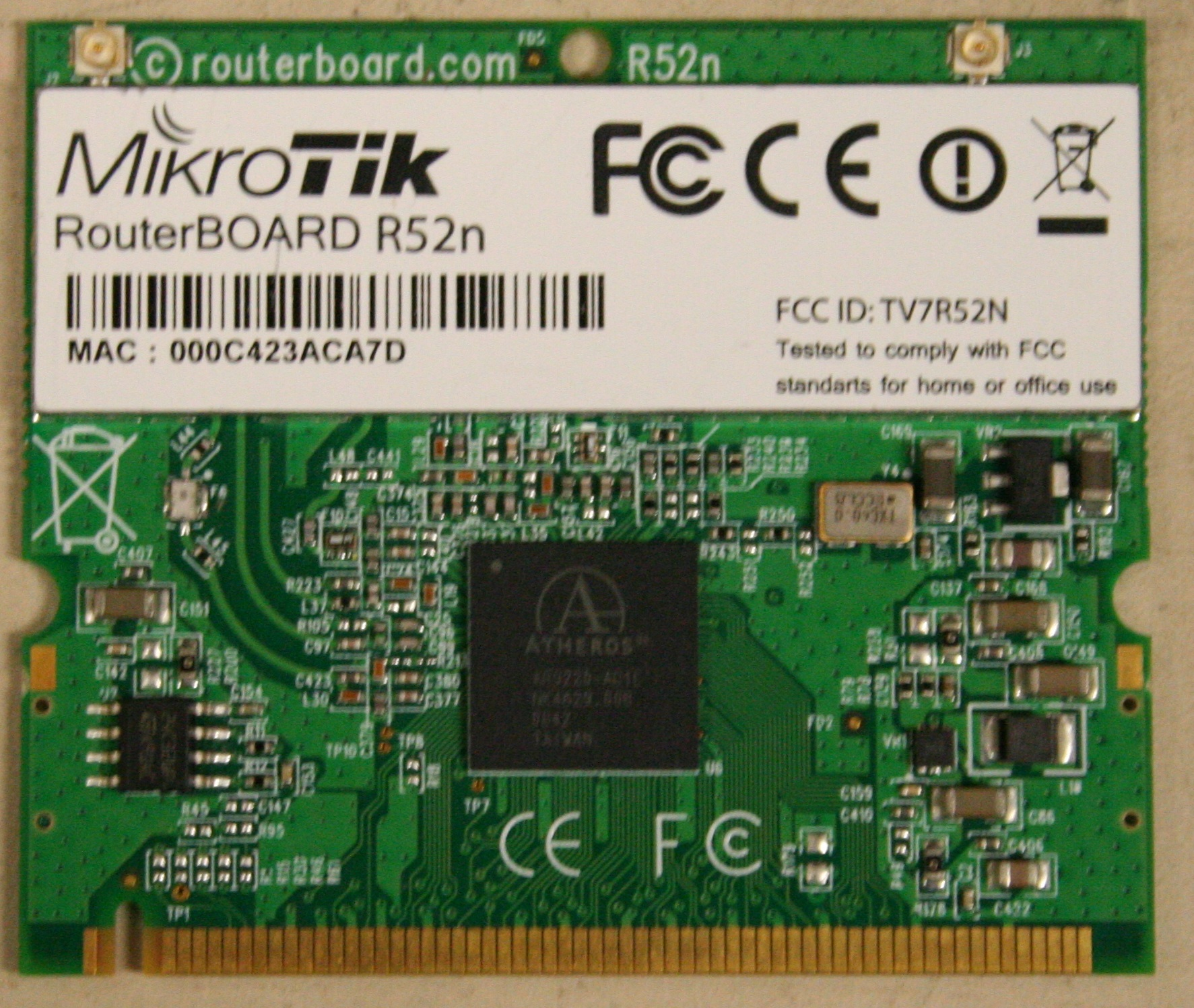 Atheros 9220 based cards